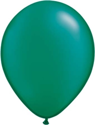 Emerald Green Latex Balloons for Sale