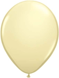 Ivory Latex Balloons for Sale
