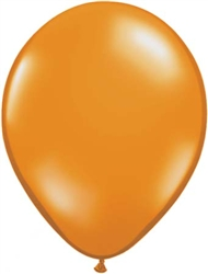 Mandarin Orange Latex Balloons for Sale
