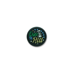 Over-the-Hill Satin Button