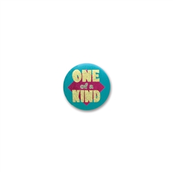 One of a Kind Satin Button
