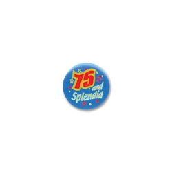 75 & Splendid Satin Button