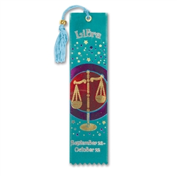 Libra Bookmark Ribbon