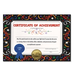 Certificate of Achievement Certificate Greeting