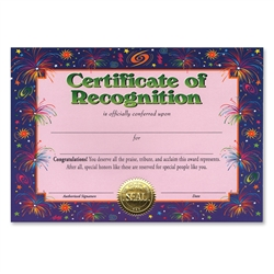 Certificate of Recognition Certificate Greeting