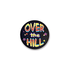 Over-The-Hill Flashing Button
