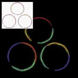 Bi-Color Glow Swizzle Bracelets for Sale