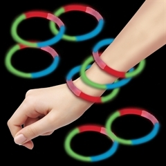 Blue, Green, Red Glow Bracelets for Sale