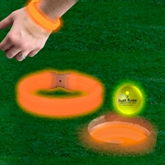 ORANGE TRIPLE WIDE CUP RINGS / BRACELETS