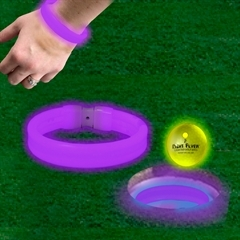PURPLE TRIPLE WIDE CUP RINGS / BRACELETS