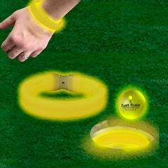 YELLOW TRIPLE WIDE CUP RINGS / BRACELETS