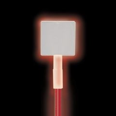 Square Straw/Lightstick Topper