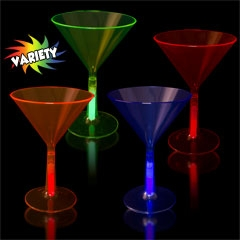 Glowing Martini Glasses for Sale
