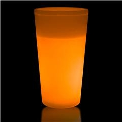 Orange Glowing Glass for Sale
