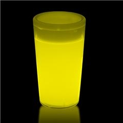 Yellow Glowing Shot Glass for Sale