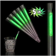 Green Glow Straws for Sale