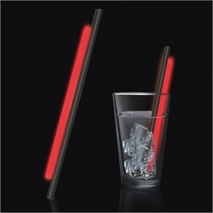 Red Glow Straws for Sale