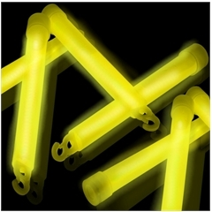 6'' YELLOW PREMIUM GLOW STICKS