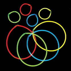 Assorted Glow Necklaces and Bracelets for Sale