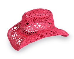 Hot Pink Cowgirl Hat | Cowboy/Cowgirl Apparel