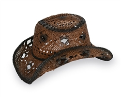 Brown Cowboy/Cowgirl Hat | Cowboy/Cowgirl Apparel