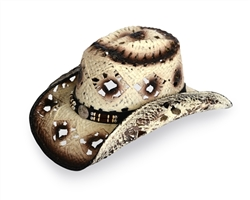 Off-White Western Cowboy Hat | Cowboy/Cowgirl Apparel