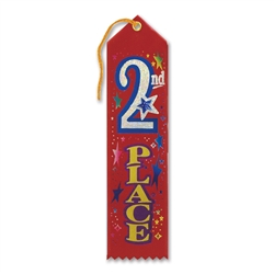 2nd Place Jeweled Ribbon