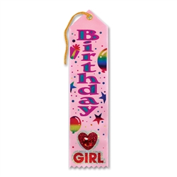 Birthday Girl Jeweled Ribbon