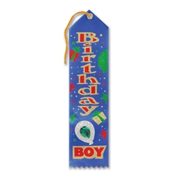 Birthday Boy Jeweled Ribbon