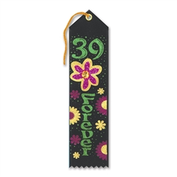 39 Forever Jeweled Ribbon