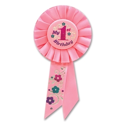 My 1st Birthday Rosette