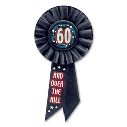 60 & Over-the-Hill Rosette