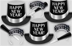 Black & Silver New Year's SHADOWS Assortment