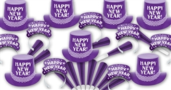 Ziggy Zaggy Purple New Year's Assortment for 100