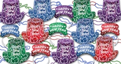 NEW Assorted Colors New Year's Prismatic Splash Assortment
