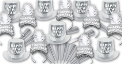 Silver Elegance New Year's Assortment for 100 People