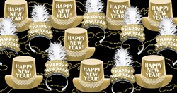 Gold Elegance New Year's Assortment for 100 People