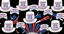 Americana New Year's Assortment for 100 People