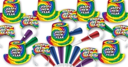 1960's Hippie New Year's Assortment for 100 People