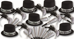 New Year's Eve Party Favors, Hats, Tiaras, Horns, Kits for Sale