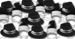New Year's Eve Party Favors, Hats, Tiaras, Beads, Kits for Sale