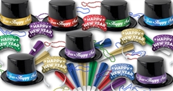 Star Splash New Year's Collection for 100 People | Party Supplies