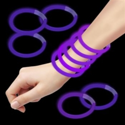 Purple Glow Bracelets for Sale