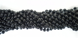 Black Party Beads