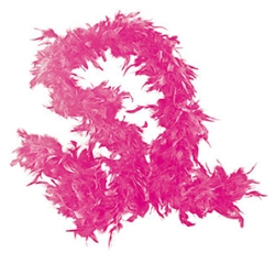 Pink Fancy Feather Boa | Party Supplies