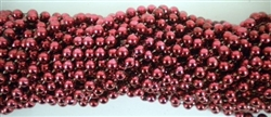 Burgundy Party Beads