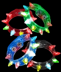 LED Spike Bracelets | Party Supplies