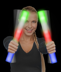 LED Foam Stick Baton - Multicolor | Party Supplies