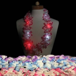 LED Flower Leis