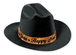 Wild Wild West Cowboy Hat | Western New Year's Eve Party Kit